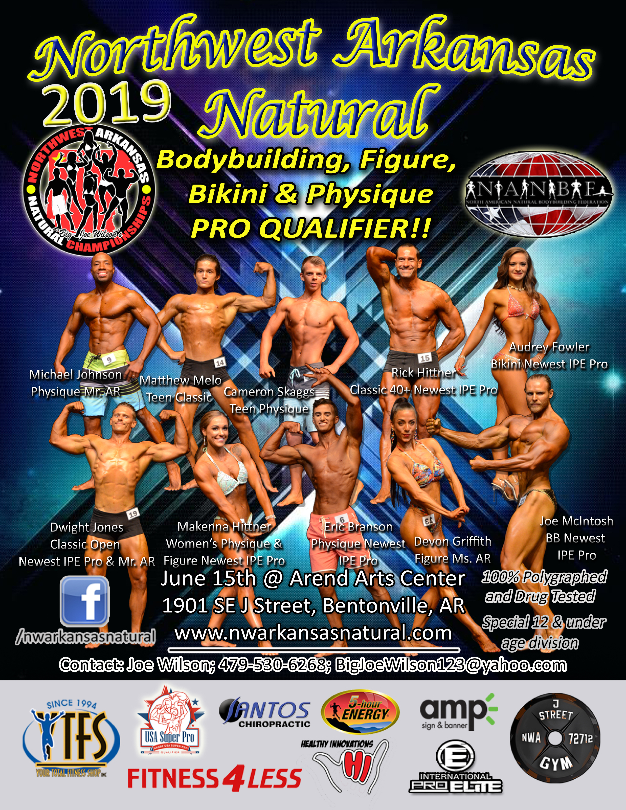 NWA Natural Championships | NWA Fitness & Health